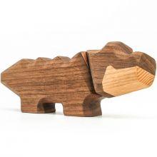FableWood - Magnetisk trælegetøj, Lille krokodille