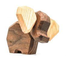 FableWood - Magnetisk trælegetøj, Lille elefant