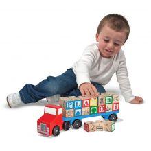 ABC træklodser på lastbil