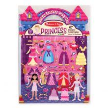 Aktivitetsbog med klistermærker - Prinsesser