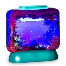 Aqua Dragons i akvarium m. LED lys