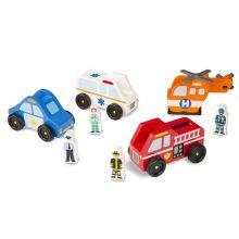 Biler i træ - Redningskøretøjer