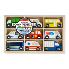 Biler i træ - Store køretøjer