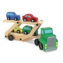 Biltransporter med 4 biler