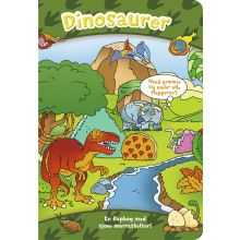 Den store flapbog: Dinosaurer
