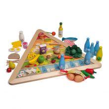 Lær om ernæring - Madpyramide inkl. legemad