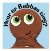 Babblarna sprogtræning Bog - Hvor er Babbas ting