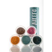 Ailefo modellervoks - 5 x 100 gram