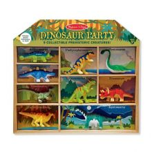 Dinosaurusser i kasse - 9 stk.