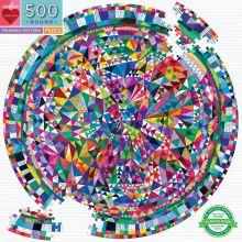 Puslespil m. 500 brikker - Geometrisk mønster