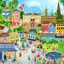 Puslespil med 1.000 brikker – København