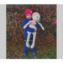 Rubens EcoBuds Giant dukke, 70 cm. - Elm