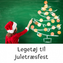 Legetøj til juletræsfest