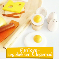 PlanToys - Legekøkken & legemad