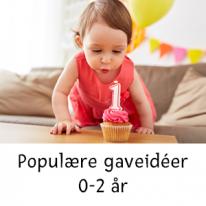 Populære gaveidéer 0-2 år